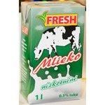 """Trvanlivé mlieko nízkotučné """"FRESH"""" 0,5% 1l"""