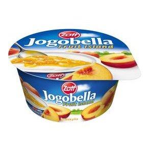 Jogobella Ovocný ostrov štandart 150g-jahoda alebo broskyňa