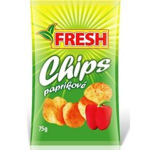 """Zemiakové chipsy paprikové """"FRESH"""" 75g"""