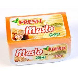"""Maslo čerstvé """"FRESH"""" 125g-Liptov"""