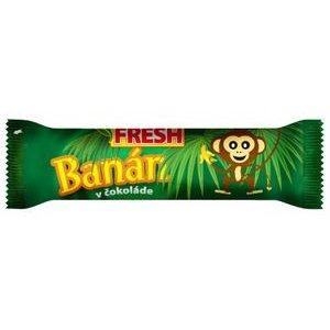 """Banán v čokoláde """"FRESH"""" 25g"""