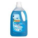 """Prací gel """"FRESH"""" na pranie bielych a farebných tkanín 1,5l"""
