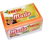 """Maslo čerstvé """"FRESH"""" 125g-Tatranská mliekáreň"""