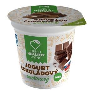 "Smotanový jogurt čokoládový ""FRESH"" 145g"