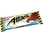Attack blátka s mliečnou náplňou máčaná v čokoláde 30g