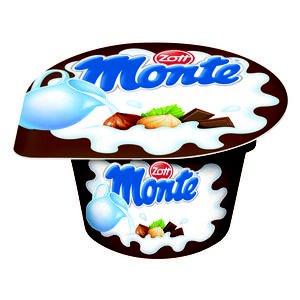 Zott Monte - Mliečny dezert s čokoládou a lieskovými orieškami 150 g