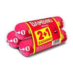 Bambino-roztieratelný tavený syr v črievku 100g - 2 + 1 zadarmo
