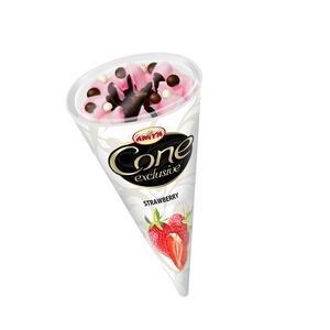 Cone Exclusive-jahodová zmrzlina 120ml
