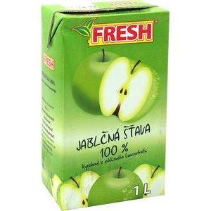 Jablčná šťava 100% FRESH v TP 1l