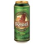Pivo Velkopopovický Kozel ležiak svetlý 11% Medium 0,5l/plech