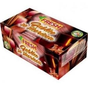 Ovocný čaj porciovaný Jablko so škoricou FRESH 40g