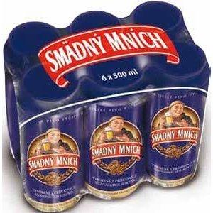 Pivo Smädný Mních 10% 0,5l plechovka - 6 pack