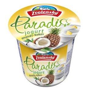 Zvolenský jogurt Paradiss ananas-kokos 150g