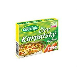 Bujón Carpathia Karpatský - číry 3l /60g