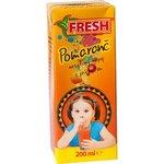 Pomarančová šťáva FRESH 0,2l TP