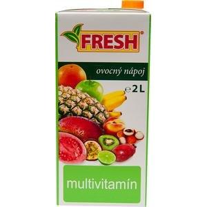 Nesýtený nápoj FRESH Multivitamín v TP 2l