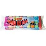 Hubky na riad 10ks-Fresh