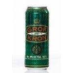 Pivo Grof en Kron v plechovke 0,5l