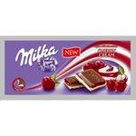 Čokoláda Milka Cherry cream - s višňovou náplňou 100g
