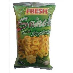 Fresh-snack s príchuťou syr-cibuľka solený 50g