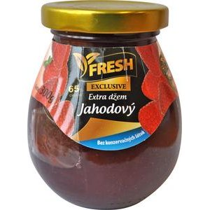 FRESH-Exclusive džem Extra 300g-jahodový