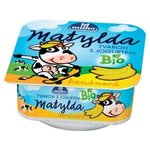 Matylda Bio tvaroh s jogurtom ochutený malinou resp.banánom 100g