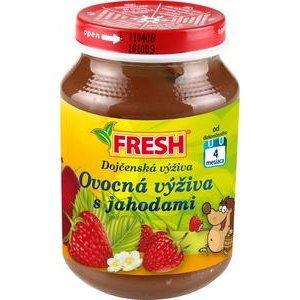 """Detská výživa jahodová """"Fresh"""" 190g"""