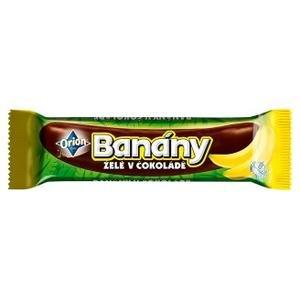 Banany v cokolade - zele tycinka v horkej cokolade 45 g