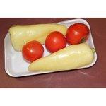 Balená zelenina - paradajky s paprikou