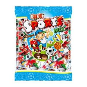 Sport žuvacie cukríky v čokoláde 230g