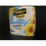 Fresh-Toaletný papier Exklusiv 4ks 3vrstvový 19metrov 100% celulóza