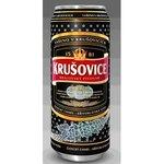 Pivo Krušovice tmavé 0,5l/plech
