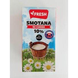"""Smotana na varenie trvanlivá """"Fresh"""" 10% 500ml"""