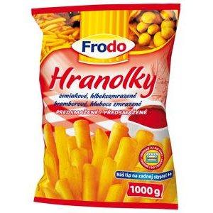 Hranolky zemiakové mrazené Frodo 1kg