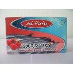 Sardinky del Pietro v paradajkovej omáčke 125g