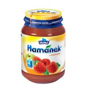 Hamanek-Detska vyziva malinova 190g