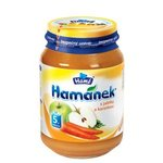 Hamánek-Detská výživa jablkami a mrkvou190g