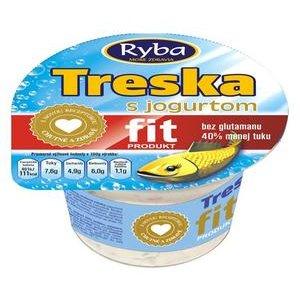 Treska FIT s jogurtom 140g