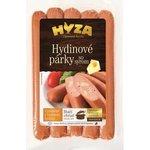 Hydinové párky so syrom 300g/vákuovo balené-Hyza