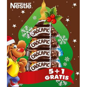"""Chocapic cereálna tyčinka 25g """"Vianočné balenie"""" 5+1 grátis"""