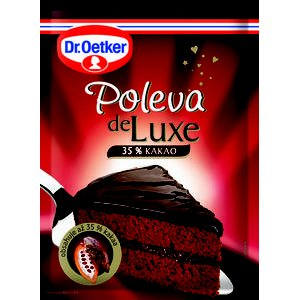 Poleva de Luxe 35% kakaa Dr.Oetker 100g