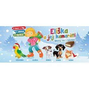 Eliška a jej kamaráti - mliečny rez s čokoládou 5 x 30g