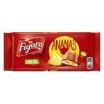 Figaro čokokoláda mliečna s ananásovou náplňou 100g
