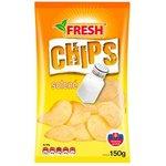 """Zemiakové chipsy solené """"FRESH"""" 150g"""