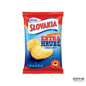 Slovakia Chips Extra hrubé jemne solené 75g