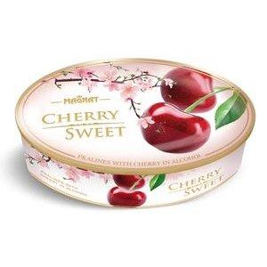 Magnat Cherry Sweet-višne v čokoláde v plechovej dóze 147g