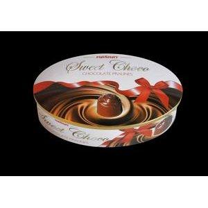 Magnat Sweet Choco-čok.pralinky s mliečnou a karamel.náplňou v plech.dóze 147g