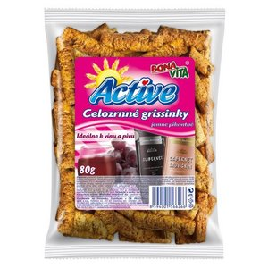 Active Grissinky jemne pikantne 80g