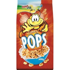 Honey Pops zrná s medom Bonavita 300g