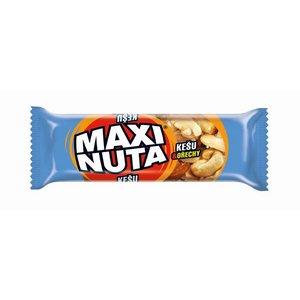 Tyčinka Maxi Nuta - kešu a orechy v čokoládovej poleve 35g